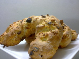 pane con ciccioli e castagne