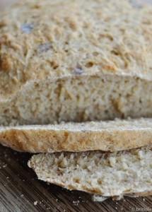 pane di segale con cumino dei prati