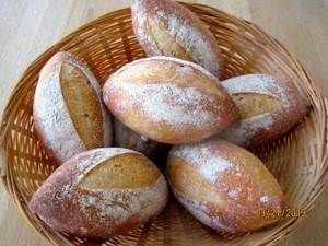 bread with old dough