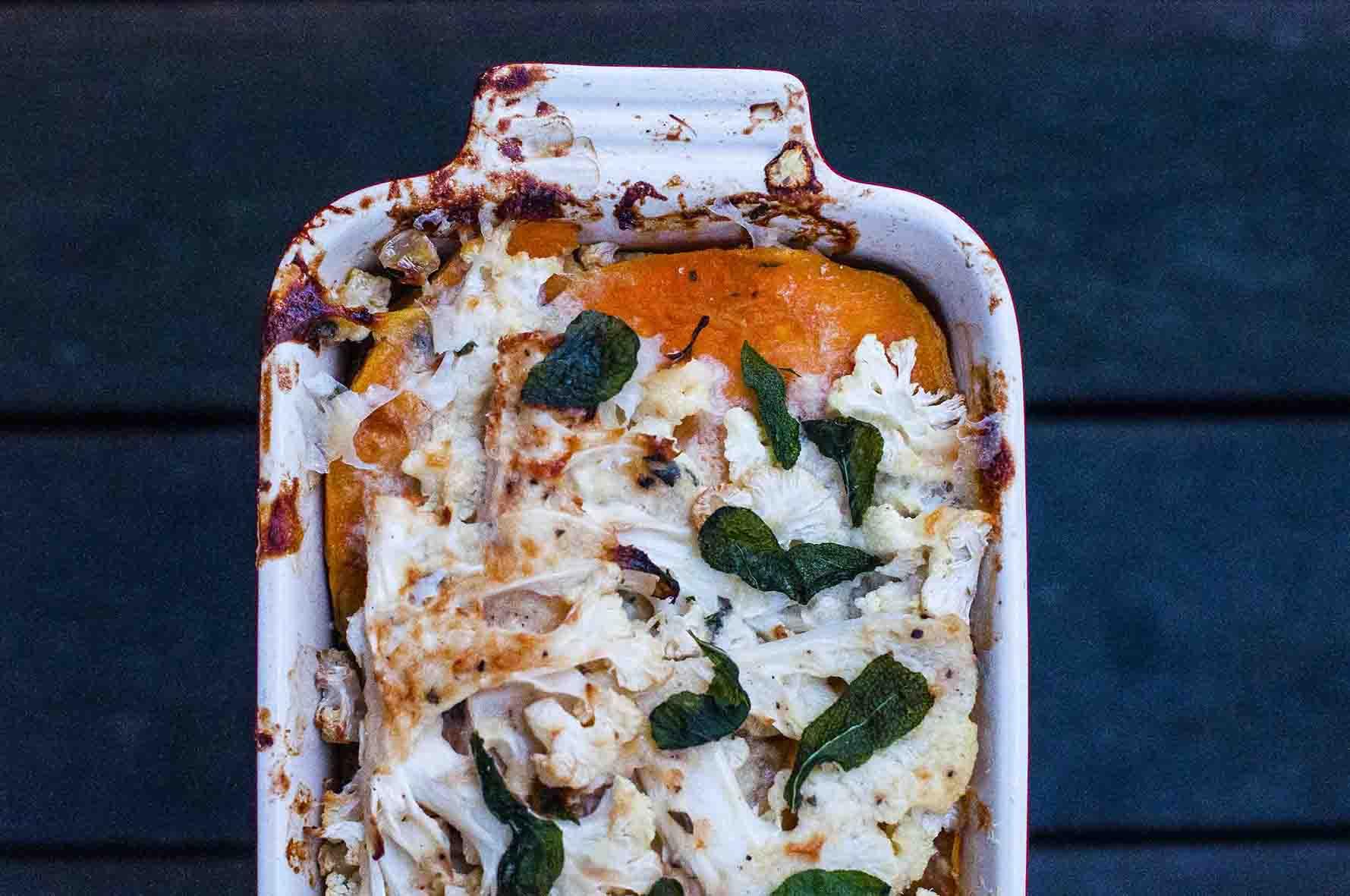 cauliflower-sweet potatoes gratin3-1