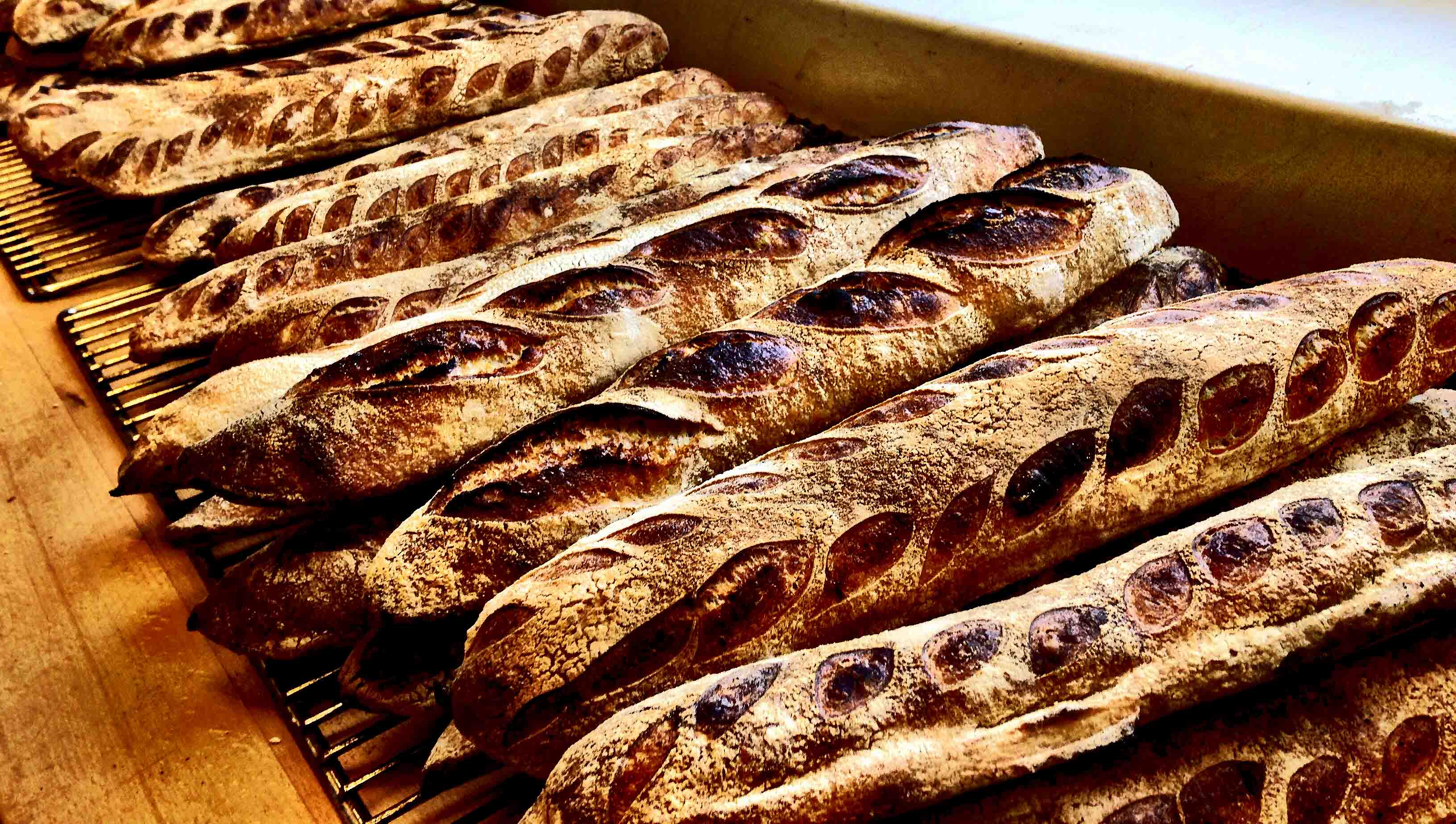 handcrafted sourdough baguette