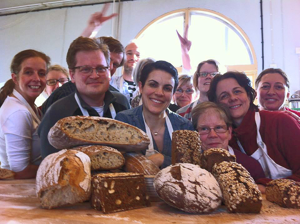 last bread workshop at Holma