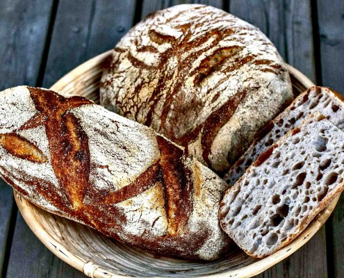 Barley-Semola-Sourdough