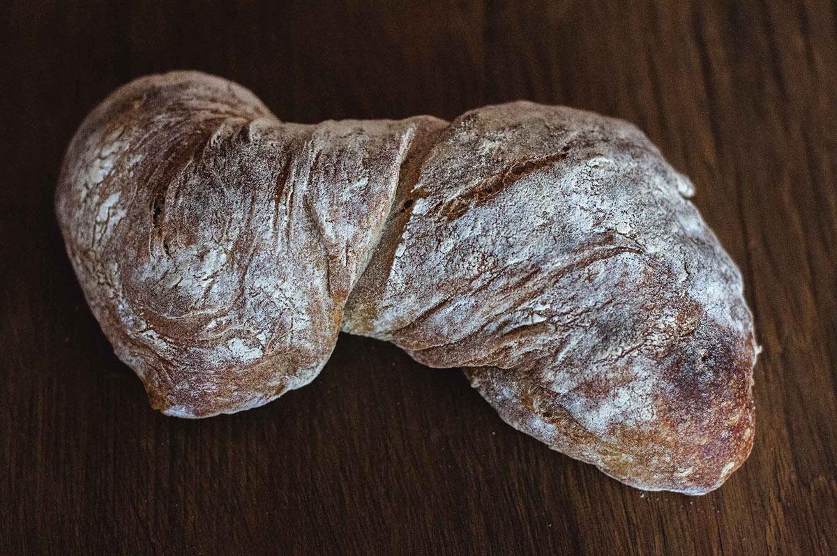 Twisted Sourdough Ciabatta