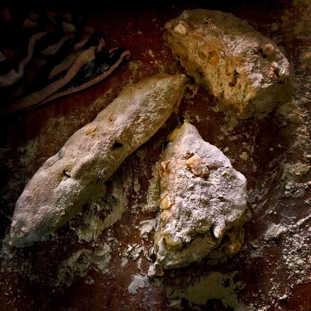 pane con le pere