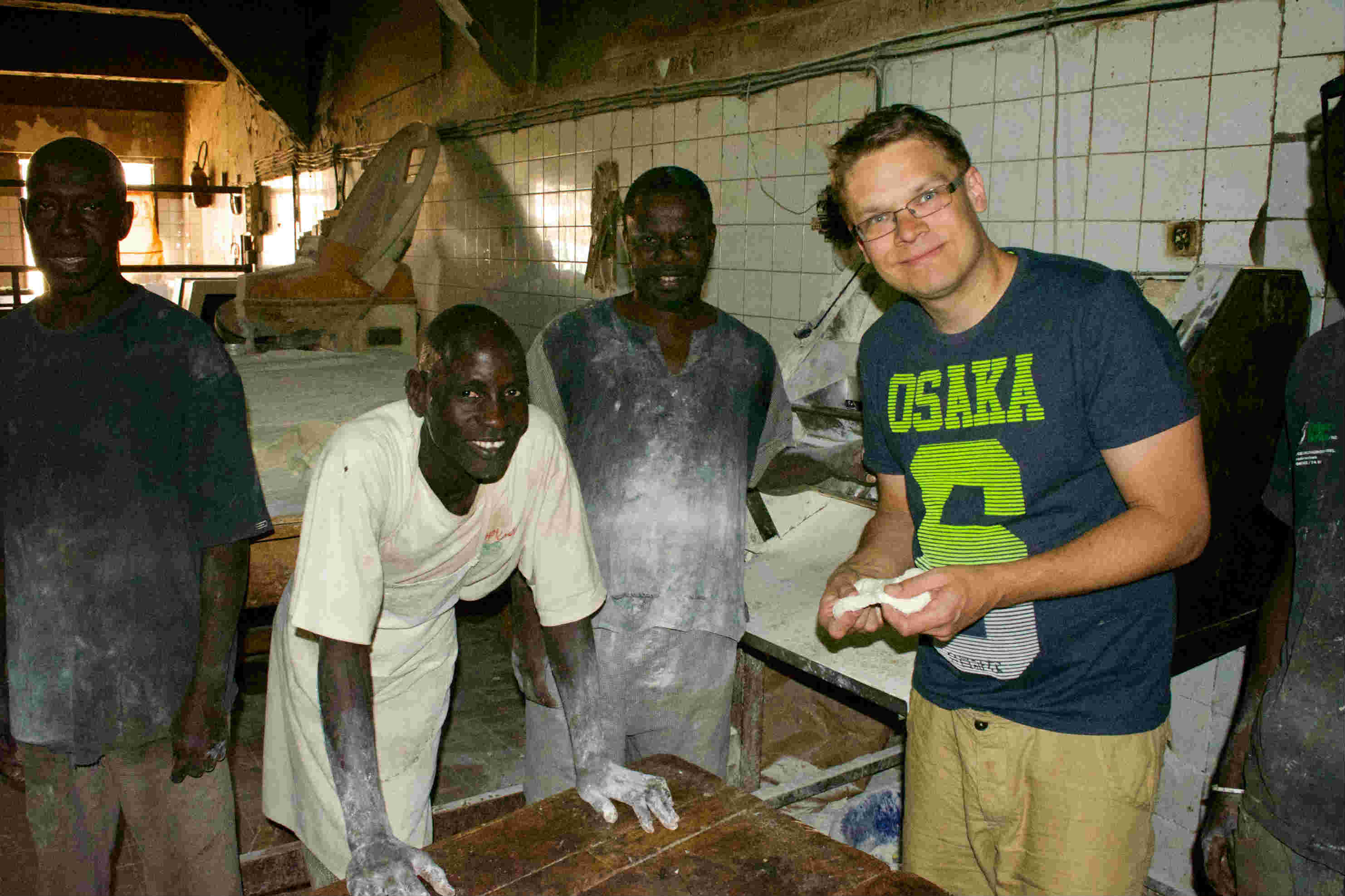 Jarkko in Senegal