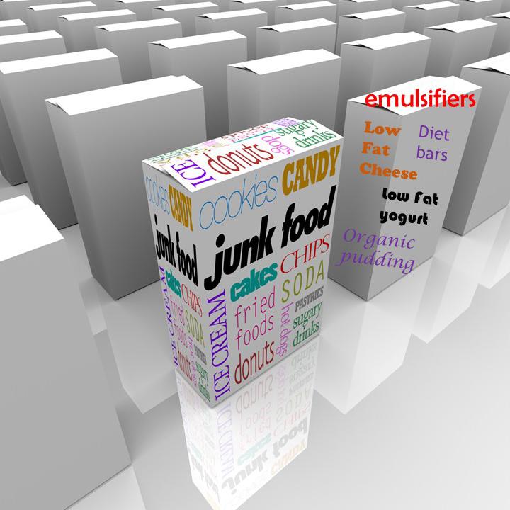 emulsifiers junk-diet food