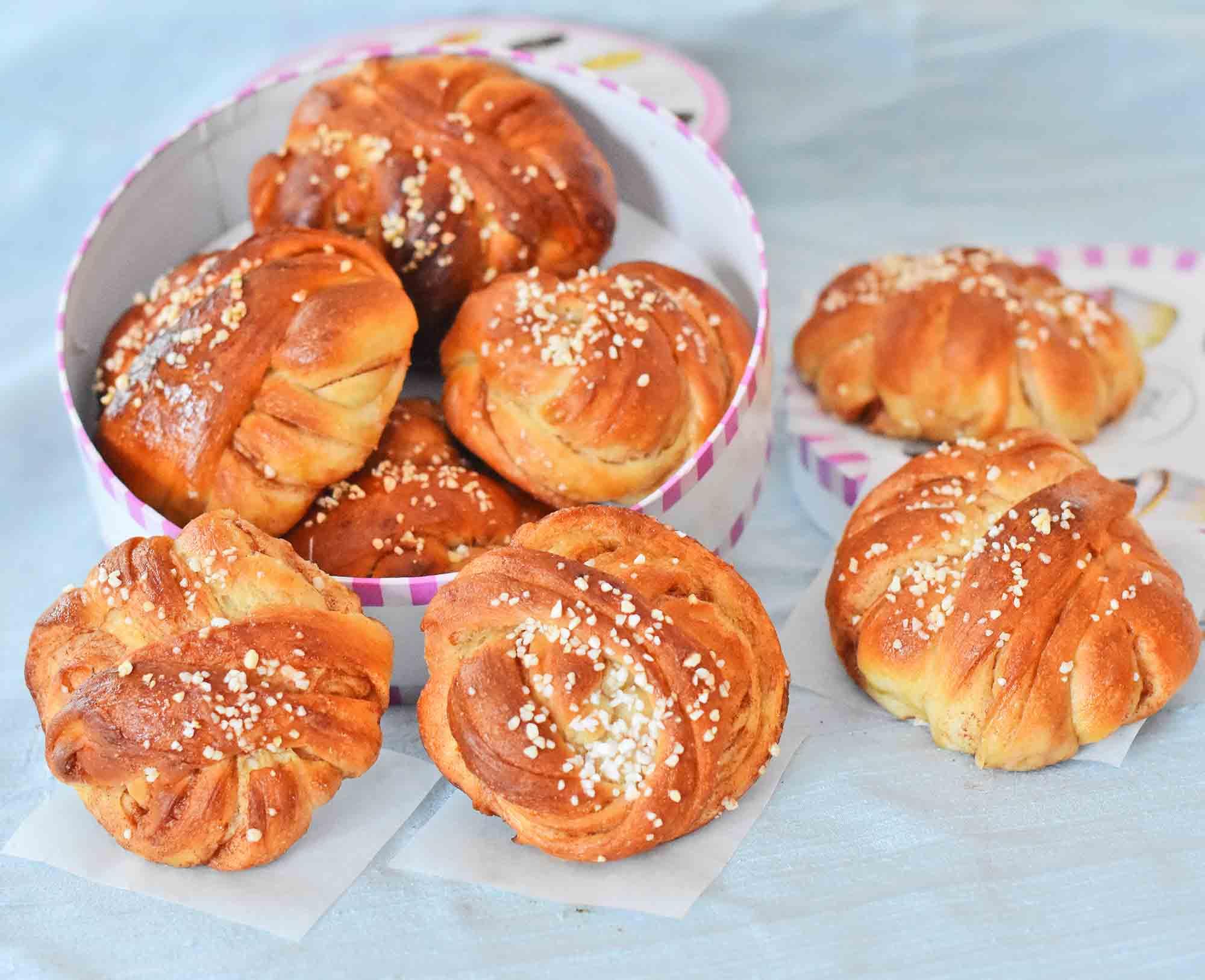 kanelbullar-cinnamon buns