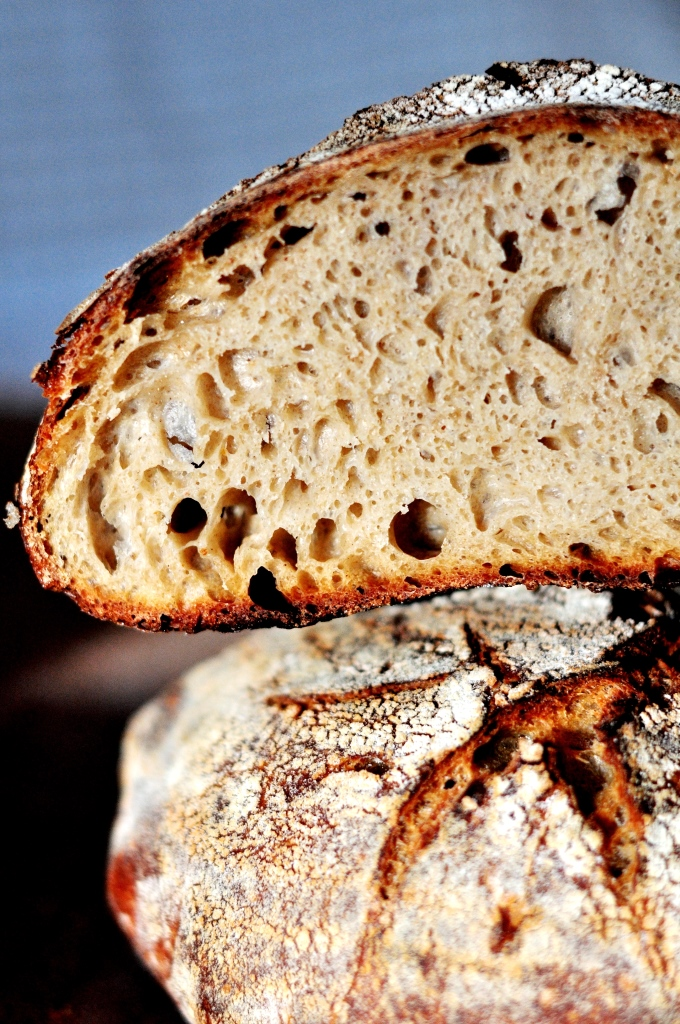 48 Hour Italian Rustic Sourdough Loaf With Kamut Bread